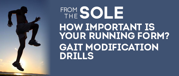 Run right with gait modification