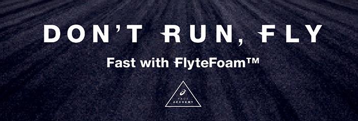 NEW ASICS Flytefoam