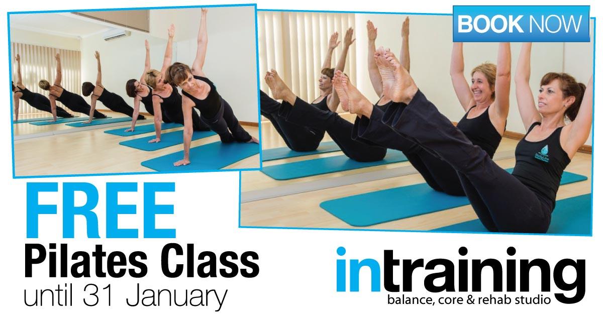 FREE Pilates until 31 Jan