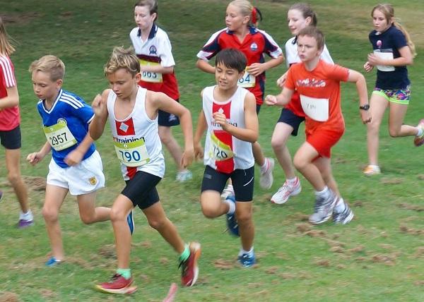 Kids racing through childhood